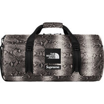 18SS Supreme/The North Face Snakeskin Flyweight Duffle Bag