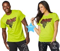 H30.6月新作☆【ZUMBA】ズンバ Sparkle On Tee Z3T00111
