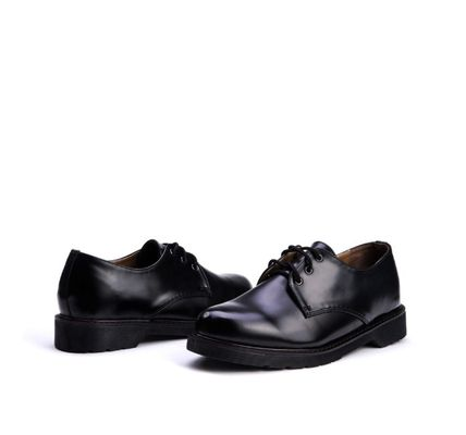 BSQT ドレスシューズ・革靴・ビジネスシューズ BSQT 375 WELL DONE DERBY CLASSIC SHOES ★シークレット 厚底★(3)
