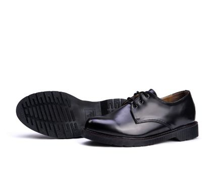 BSQT ドレスシューズ・革靴・ビジネスシューズ BSQT 375 WELL DONE DERBY CLASSIC SHOES ★シークレット 厚底★(5)