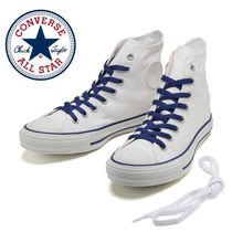 国内発送★ Converse ALL STAR COLOREDLINE HI★ホワイト/ブルー