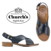 【18SS】大注目!!★CHURCH'S★cross over strap sandals