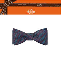 日本未入荷!【HERMES直営店】Neud papillon Banc de Filet