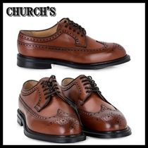 【海外発送】CHURCH'S ★ 17SS Swing Derby Shoes