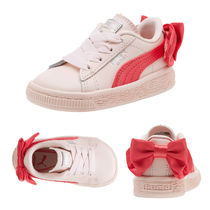 ★PUMA KIDS★BASKET BOW AC (13-16㎝)★追跡付 36732302