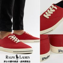 Ralph Lauren☆CP-93 Capsule Canvas Trainers in Red♪