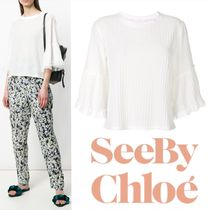SEE BY CHLOE Frilled Style Blouse 関税送料込