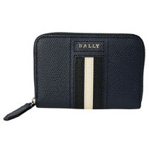 ● BALLY コインケース 6221824 TIVY.LT 17 NEW BLUE ●