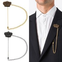 【Dolce & Gabbana】Beaded Crown Brooch 王冠ブローチ