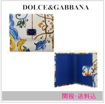 Dolce&Gabbanaマジョリカプリントコンパクトウォレット 関・送込