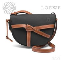 LOEWE★ロエベ Gate Small Bag Black/Pecan Color