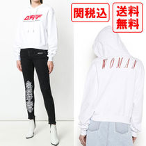SALE! 関税・送料込 OFF-WHITE 2018SS OFFF コットンパーカ