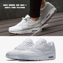 NIKE★WMNS AIR MAX 1★WHITE/PURE PLATINUM