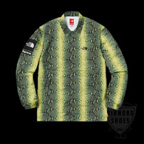 SUPREME THE NORTH FACE SNAKESKIN TAPED SEAM COACHES JACKET