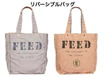 FEED(フィード) トートバッグ 国内発送 フィード*FEED リバーシブル トートバッグ SLATE GRAY