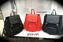 【MICHAEL KORS】Abbeyナイロン製バックパック☆ママバッグに!