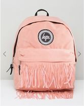 Hype(ハイプ) マザーズバッグ Hype Backpack with Fringed Pocket