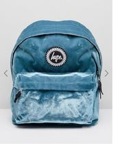Hype(ハイプ) マザーズバッグ Hype Exclusive Teal Velvet Backpack