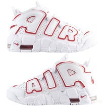NIKE AIR MORE UPTEMPO GS RENOWNED RHYTHM モアテン 白×赤