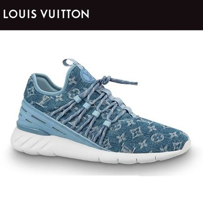 ★NEW★【Louis Vuitton】SNEAKER FASTLANEデニムモノグラム