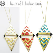 即納処分HOUSE OF HARLOW 1960 tribal leatherネックレスN000676