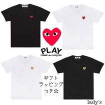 COMME des GARCONS(コムデギャルソン) Tシャツ・カットソー ☆COMME des GARCONS☆lady's ハート プレイ Tシャツ