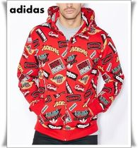 adidas Originals Mens Jams Hoody プリント パーカー フーディ
