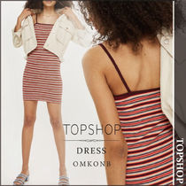 【国内発送・関税込】TOPSHOP★Striped Bodycon Mini Dress