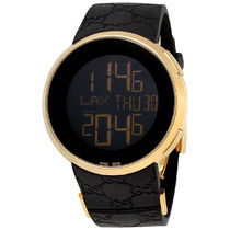 大特価 GUCCI(グッチ) I-Gucci Yellow Gold-Tone Black  Men's