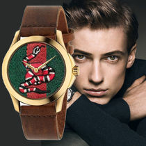 GUCCI(グッチ)Le Marche Des Merveilles Green and Red Dial
