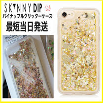 【2018SS新作】即発送☆SKINNY DIP☆Gold Pineapple Glitter