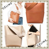 関税込★Seau Sangle Shoulder Bag Tan | CELINE