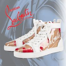 Christian Louboutin*Louis Men's Flat ハイカット スニーカー