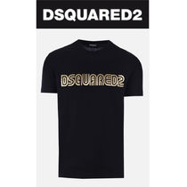 D SQUARED2  プリント ロゴ Tシャツ