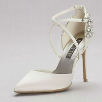 送関込★David's Bridal★VERA WANG Pointed-Toe ブライダル