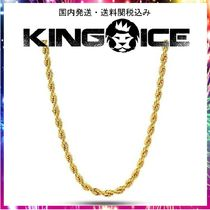 ☆KING ICE☆4mm, 14K Gold Stainless Steel Rope Chain