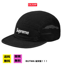 【BUYMA最安値】SS18 SUPREME MESH SIDE CAMP CAP/BLACK