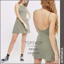 【国内発送・関税込】TOPSHOP★Scoop Back Swing Mini Dress