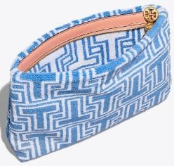 Tory Burch メイクポーチ 国内発送★Tory Burch T TERRY コスメポーチ(4)
