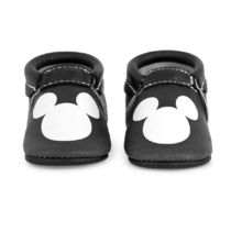 Mickey Mouse Icon Moccasins for Baby by Freshly Picked