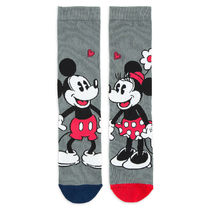 Mickey and Minnie Mouse Sweethearts Socks for Women