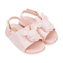 Mickey and Minnie Mouse Slide Sandals for Toddlers by