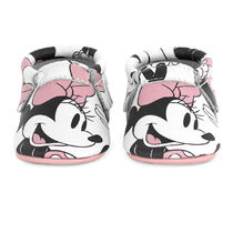 Minnie Mouse Moccasins for Baby by Freshly Picked