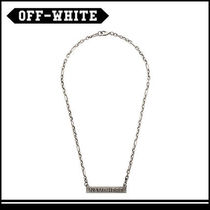 OFF-WHITE オフホワイト NAME HERE ネックレス