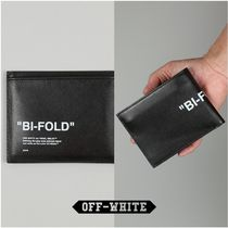 Off-White QUOTE BIFOLD WALLET ブラック/ホワイト 国内発