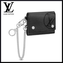 Louis Vuitton チェーン・コンパクトウォレット 折りたたみ財布