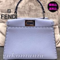 FENDI  新作SELLERIA PEEKABOO MINI  BLUE SKY