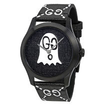 GUCCI(グッチ) G-Timeless Black with Ghost Motif Dial Men's