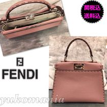 FENDI  新作SELLERIA PEEKABOO MINI  english rose cameli