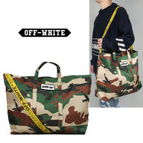 2018AW Off-White CAMOU トートバッグ ALL OVER WHITE 国内発